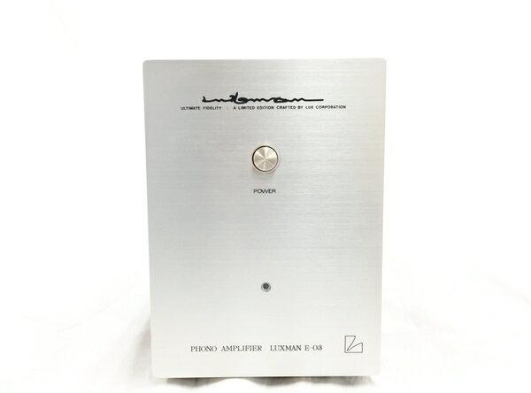 【中古】 LUXMAN E-03 フォノイコライザー ラックスマン オーディオ 中古 T3846232