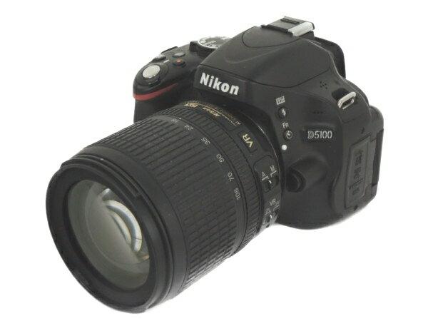 【中古】 Nikon ニコン D5100 18-105 VRキット カメラ レンズ デジタル 一眼 機器 Y3167659