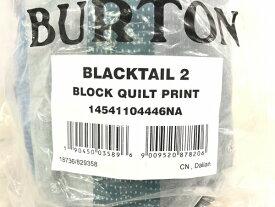 未使用 【中古】 BURTON バートン Blacktail 2 テント ブラックテイル 2人用 BLOCK QUILT PRINT アウトドア キャンプ K4388583