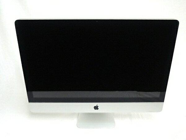 【中古】 Apple アップル iMac MC813J/A 一体型 PC 27型 Mid 2011 i5 2500S 2.7GHz 20GB HDD1TB High Sierra 10.13 Radeon HD 6770M T3397459