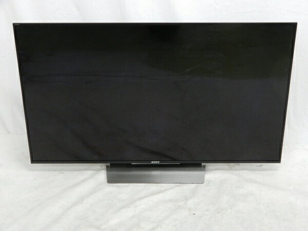 【中古】 SONY BRAVIA KJ-55X8500D 4K液晶テレビ 55V型 リモコン付 16年製【大型】 K3072982