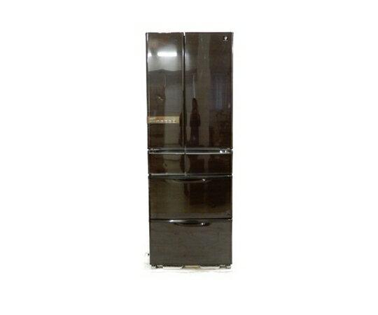 【中古】 SHARP シャープ SJ-XF47W 冷蔵庫 455L 6ドア フレンチドア プラズマクラスタ 【大型】 K3411614