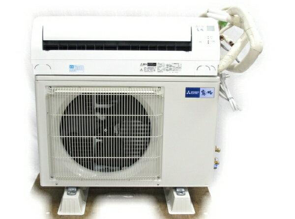 【中古】 三菱 MSZ-GE5617S-W ルームエアコン 霧ヶ峰 冷暖房 室外機付 2017年製 【大型】 N2761918