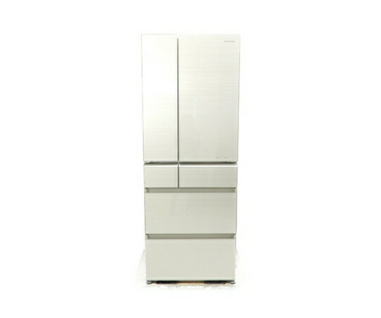 【中古】 良好 Panasonic パナソニック NR-F511XPV-N パーシャル搭載冷蔵庫 501L 6 ドア フレンチドア マチュアゴールド 【大型】 K3499059
