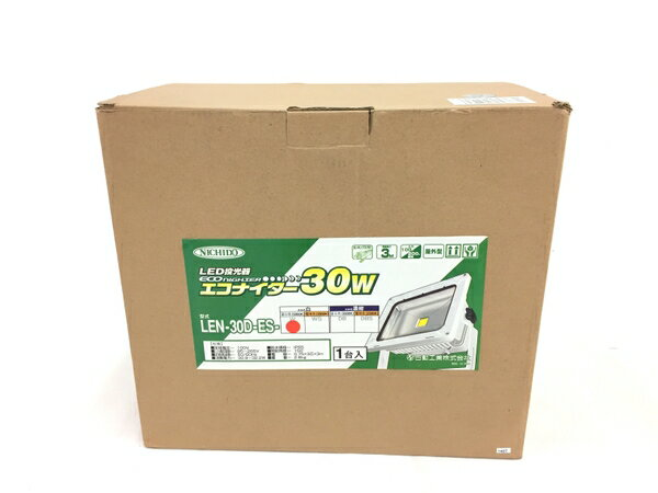 未使用 【中古】 日動 工業 LEN-30D-ES LED エコナイター 投光器 野外 T3415642