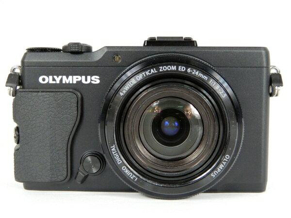 【中古】 OLYMPUS オリンパス STYLUS XZ-2 BLK デジタルカメラ コンデジ ブラック K3569394