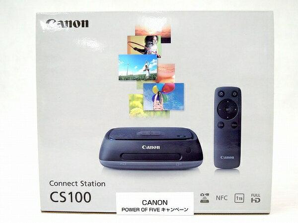 未使用 【中古】 未開封 未使用 Canon キャノン Connect Station CS100 デジタルフォトストレージ 1TB O3172871
