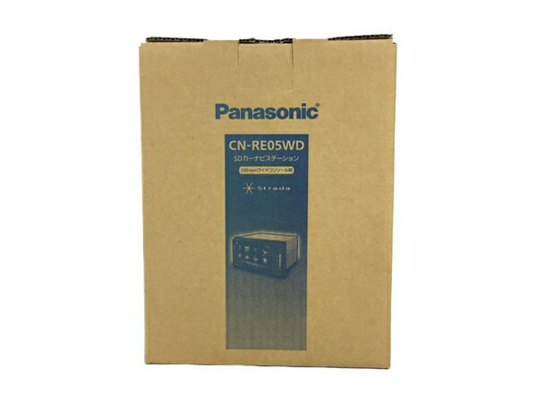 未使用 【中古】 Panasonic strada CN-RE05WD SD カーナビステーション N4034508