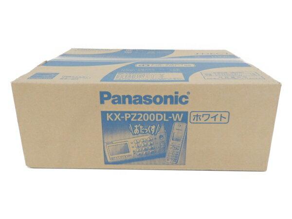 未使用 【中古】 Panasonic パナソニック KX-PZ200DL おたっくす FAX ファックス 電話機 F3414635