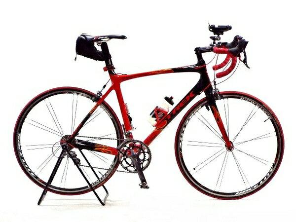 【中古】 TREK トレック Madone マドン 5.2 ULTEGRA RACELITE ARAMID BEAD 700×23 Project One カーボン ロード バイク 10速 ブラック レッド T3540868