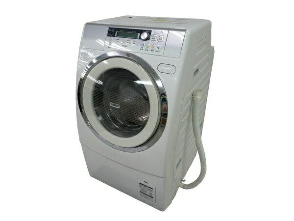【中古】 Haier ハイアール AQUA AQW-DJ6000-L(W) 洗濯機 ドラム式 9.0kg 左開き ホワイト【大型】 M3156064