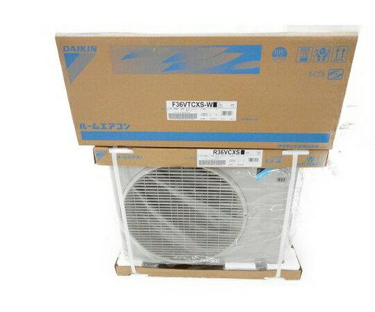 未使用 【中古】 DAIKIN ダイキン R36VCXS F36VTCXS-W ルーム エアコン 家電 W3226085