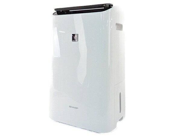 【中古】 SHARP シャープ CV-G120-W プラズマクラスター 衣類 乾燥 除湿器 家電 17年製 Y3608524