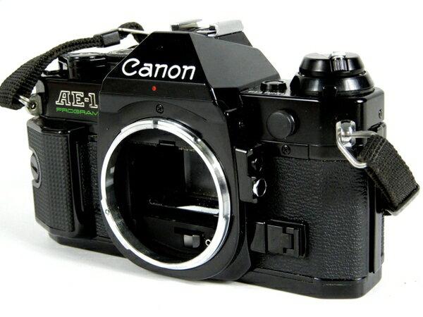 【中古】キャノン canon AE-1 ボディ フィルム カメラ 一眼 K3702073