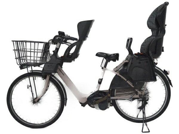 【中古】 中古 Panasonic パナソニック BE-ELMA632T ギュットアニーズF DX 電動アシスト自転車 【大型】 F3563926