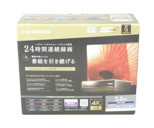 未使用 【中古】 I・O DATA AVHD-URSQ3 テレビ 録画用 ハードディスク 3TB K3695229