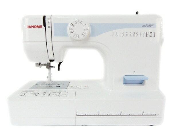 【中古】 JANOME ジャノメ 電動 ミシン JN508DX 家電 Y2656899