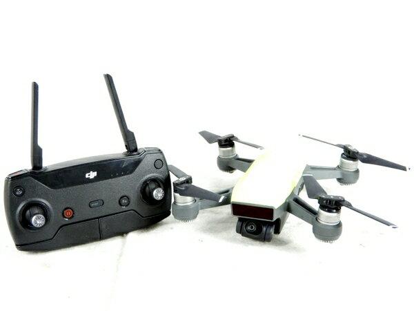 【中古】 良好 DJI SPARK MM1A ドローン 送信機 GL100A 空撮 K3702516