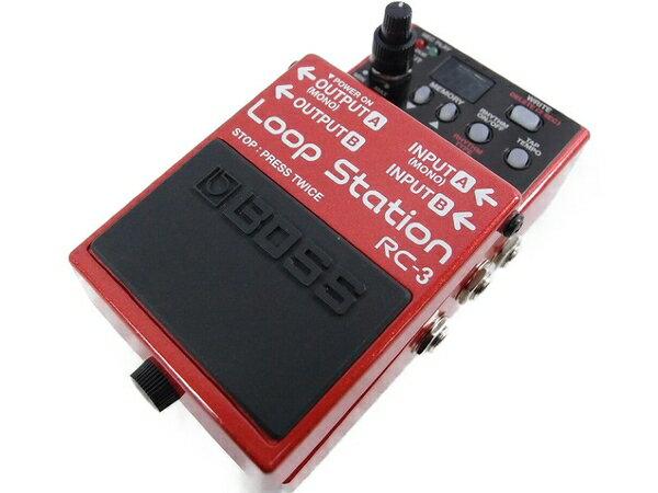 美品 【中古】 BOSS RC-3 ループ ステーション ルーパー ギター エフェクター S3061704