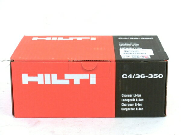 未使用 【中古】 未使用 HILTI ヒルティ C4/36-350 充電器 M3857027