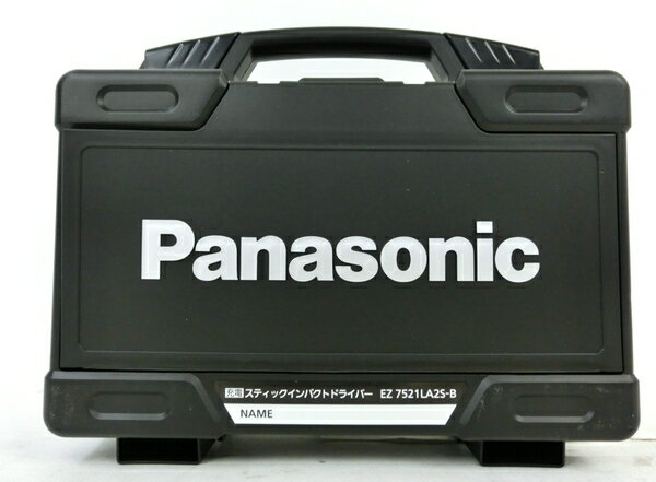 未使用 【中古】 Panasonic パナソニック EZ7521LA2S 充電スティック インパクトドライバー 7.2V 電池2個付 電動工具 M3857371