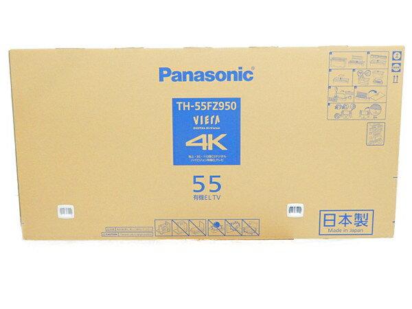 未使用 【中古】未開封 Panasonic パナソニック VIERA TH-55FZ950 テレビ 55型 4K 有機EL TV 映像機器 生活家電 【 2018年発売モデル!! 】【大型】 Y3672554