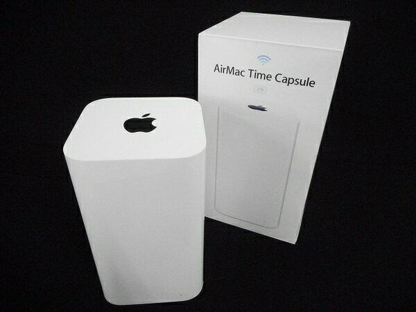 【中古】 Apple アップル AirMac Time Capsule 2TB ME177J/A ワイヤレスハードドライブ W3046853