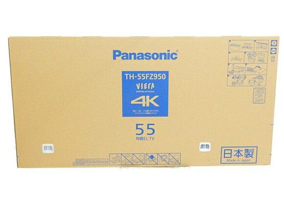 未使用 【中古】未開封 Panasonic パナソニック VIERA TH-55FZ950 テレビ 55型 4K 有機EL TV 映像機器 生活家電 【 2018年発売モデル!! 】【大型】 Y3672553