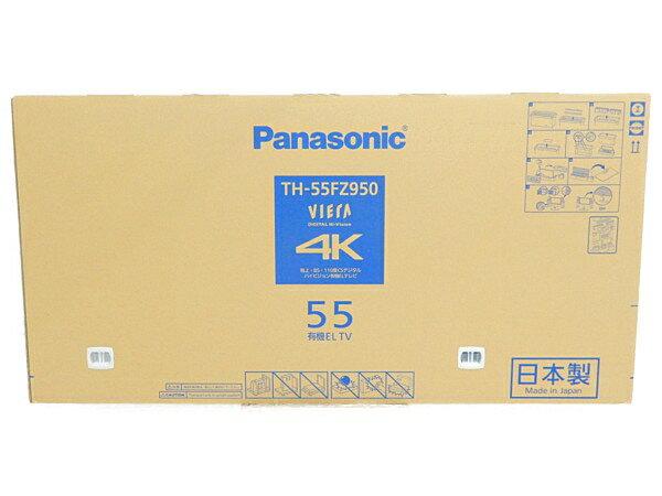 未使用 【中古】未開封 Panasonic パナソニック VIERA TH-55FZ950 テレビ 55型 4K 有機EL TV 映像機器 生活家電 【 2018年発売モデル!! 】【大型】 Y3669929