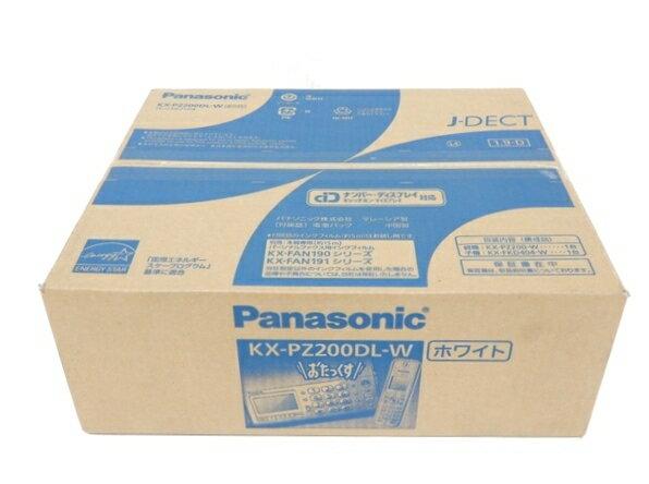 【中古】 未使用 Panasonic パナソニック KX-PZ200DL おたっくす FAX ファックス 電話機 F3415877