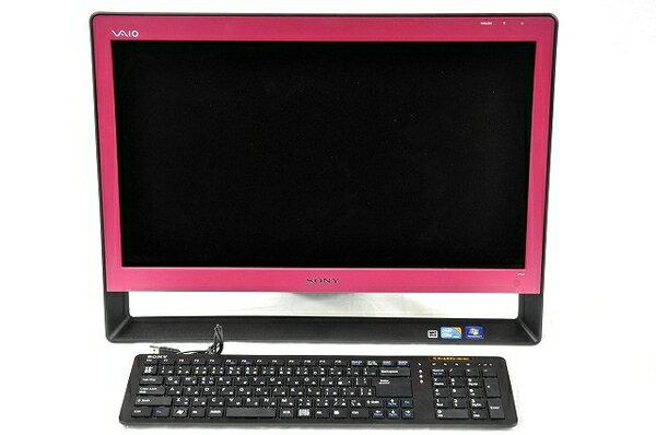 【中古】 SONY VAIO Jシリーズ VPCJ12AFJ 一体型パソコン i5-M560 2GB 320GB Win7 T2917025