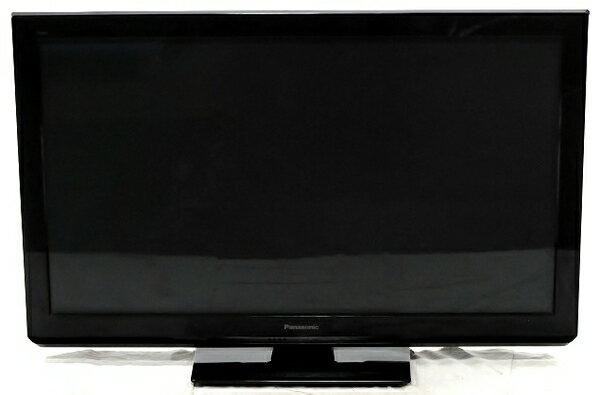 【中古】 Panasonic パナソニック VIERA TH-P42ST3 プラズマテレビ 42V型 ブラック 楽 【大型】 T3554091