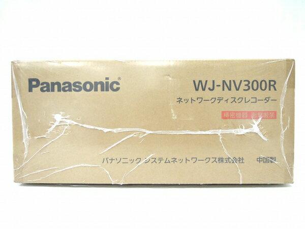 未使用 【中古】 未使用 Panasonic パナソニック NV300シリーズRAID専用モデル WJ-NV300R ネットワークディスクレコーダー O3207838