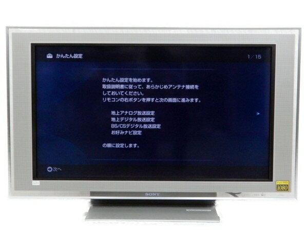 【中古】 SONY ソニー BRAVIA KDL-40X5000 B 液晶テレビ 40V型 楽【大型】 Y3083581