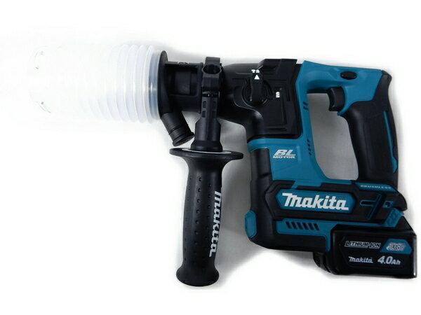 未使用 【中古】 未使用 makita 16mm 充電式 ハンマ ドリル HR166D HR166DSMX 4.0Ah 工具 S2768551