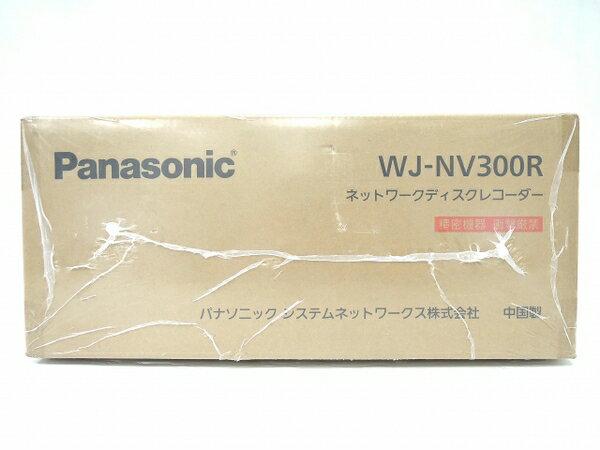 未使用 【中古】 Panasonic パナソニック NV300シリーズRAID専用モデル WJ-NV300R ネットワークディスクレコーダー O3208092