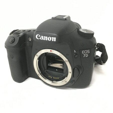 【中古】 Canon EOS 7D EOS7D カメラ デジタル一眼レフ ボディ キヤノン 中古 W3567518
