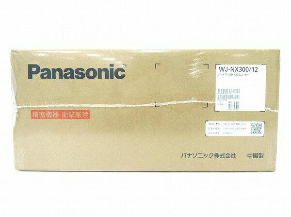 未使用 【中古】 Panasonic WJ-NX300/12 ネットワークディスクレコーダー パナソニック 防犯 監視 監視映像 レコーダー 法人向け O3750769