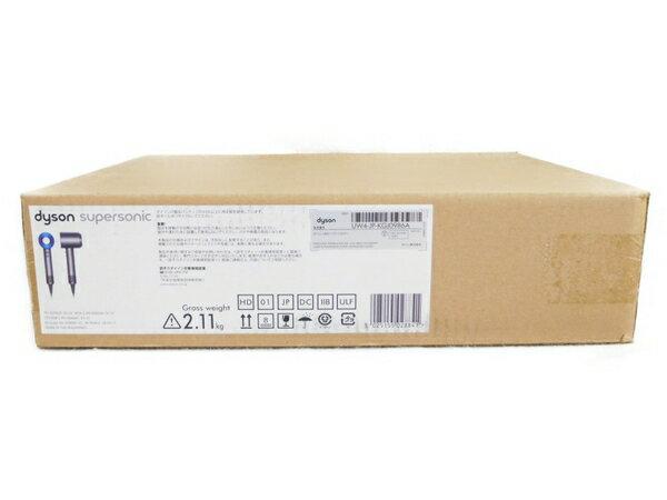 未使用 【中古】 Dyson ダイソン Dyson Supersonic 1200W HD01-ULF-IIB アイアン ブルー N3573385