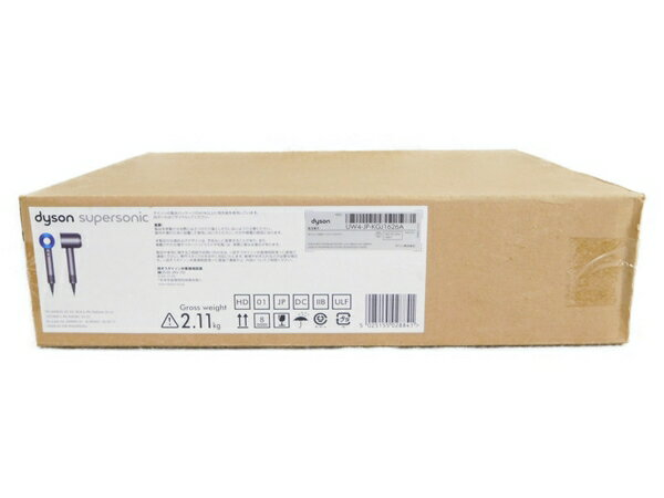 未使用 【中古】 Dyson ダイソン Dyson Supersonic 1200W HD01-ULF-IIB アイアン ブルー N3573386
