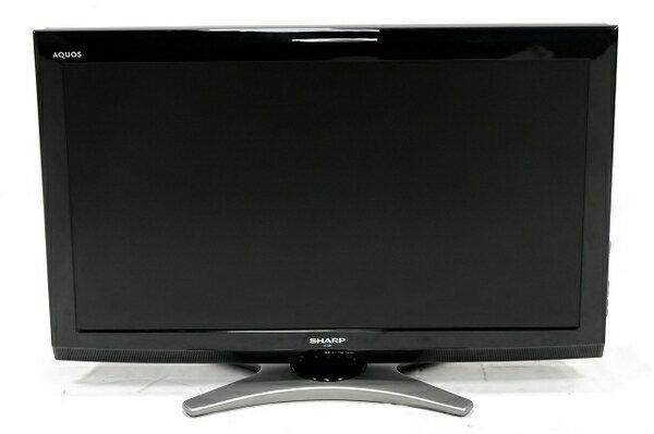 【中古】 SHARP AQUOS LC-32E8 -B 32V型 液晶 テレビ 楽 【大型】 T3529757