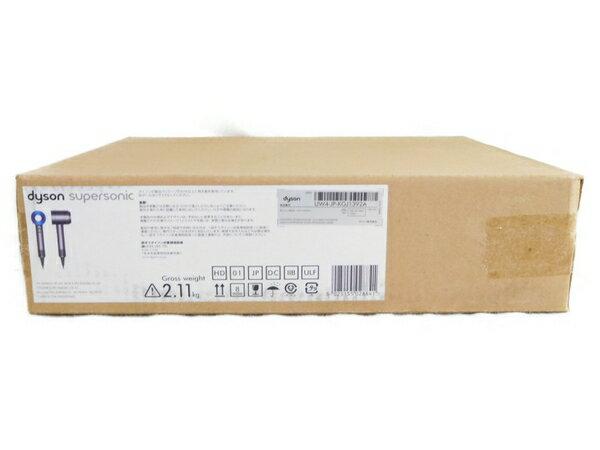 未使用 【中古】 Dyson ダイソン Dyson Supersonic 1200W HD01-ULF-IIB アイアン ブルー N3573387