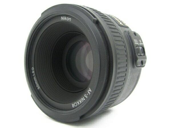 【中古】 Nikon ニコン AF-S NIKKOR 50mm f1.8G カメラ レンズ 単焦点 N3704217