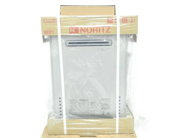 未使用 【中古】 NORITZ ノーリツ GT-C2462SAWX ガス ふろ 給湯器 設置 フリー形 シンプル オート 24号 リモコン付き N3572045