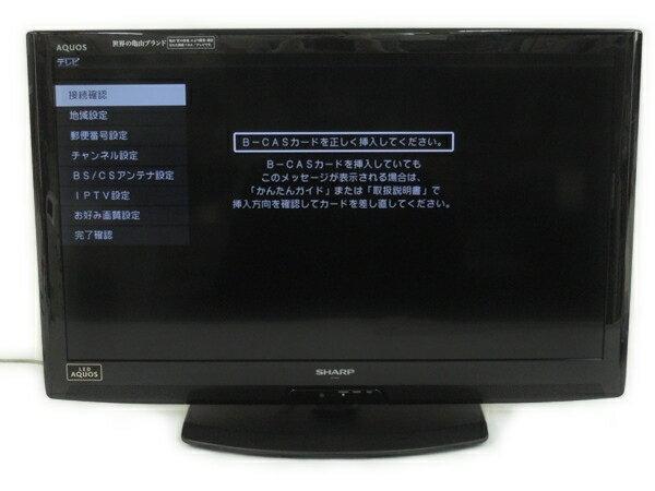 【中古】 SHARP シャープ AQUOS LC-32V5-B 液晶テレビ 32型 ブラック【大型】 Y2867894