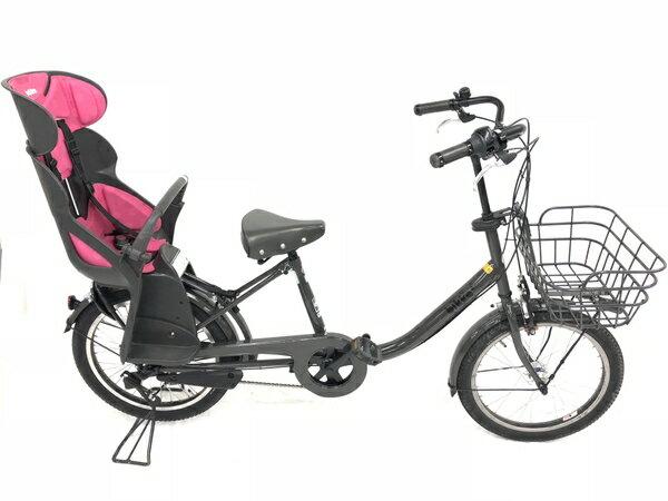 【中古】 BRIDGESTONE ブリジストン bikke BK0C26 自転車 チャイルドシート 付 【大型】 W3195513