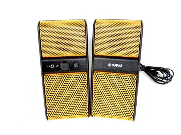 【中古】 YAMAHA ヤマハ NX-50 パワードスピーカー オレンジ 音響 機器 音楽 スピーカー ペア K3611144