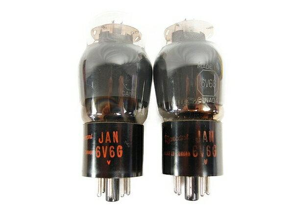 【中古】 中古 Marconi マルコーニ 6V6G 真空管 2本 セット 音響機材 器材 オーディオ機器 パーツ 部品 S3172652