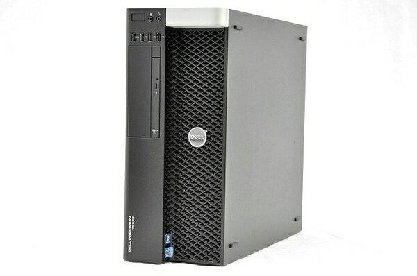 【中古】 DELL デル Precision T3600 ワークステーション WS デスクトップ パソコン PC Xeon E5 1620 3.6GHz 16GB SSD250GB HDD250GB Win7 Pro 64bit Quadro 2000 T2920463