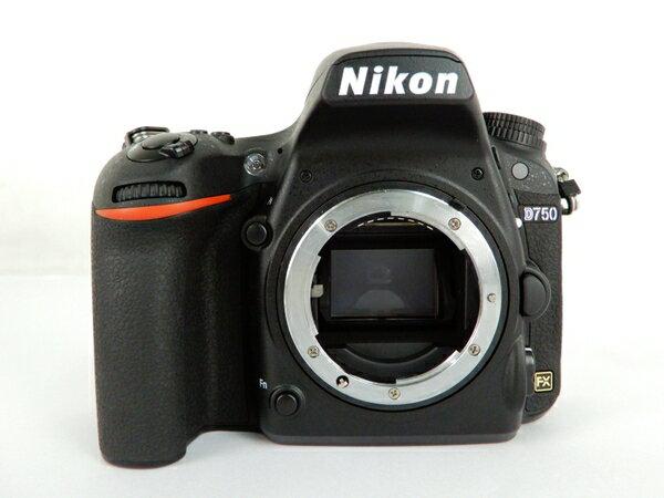 【中古】 Nikon ニコン D750 デジタル 一眼レフ カメラ ボディ 機器 Y3479311